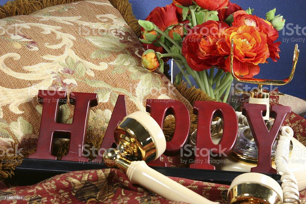 Happy Bouquet royalty-free stock photo