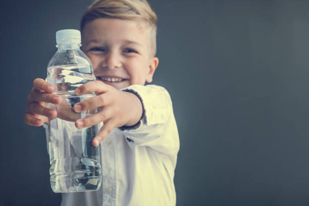 Child Drinking Water Stock Photos, Pictures & Royalty-Free ...