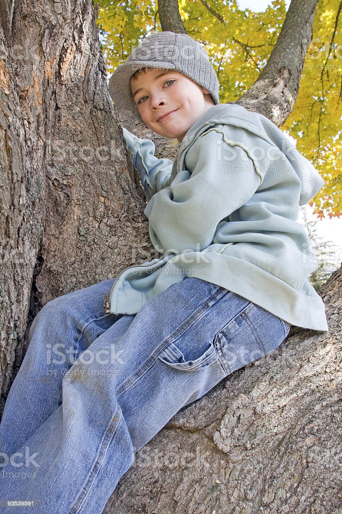 Happy Boy stock photo