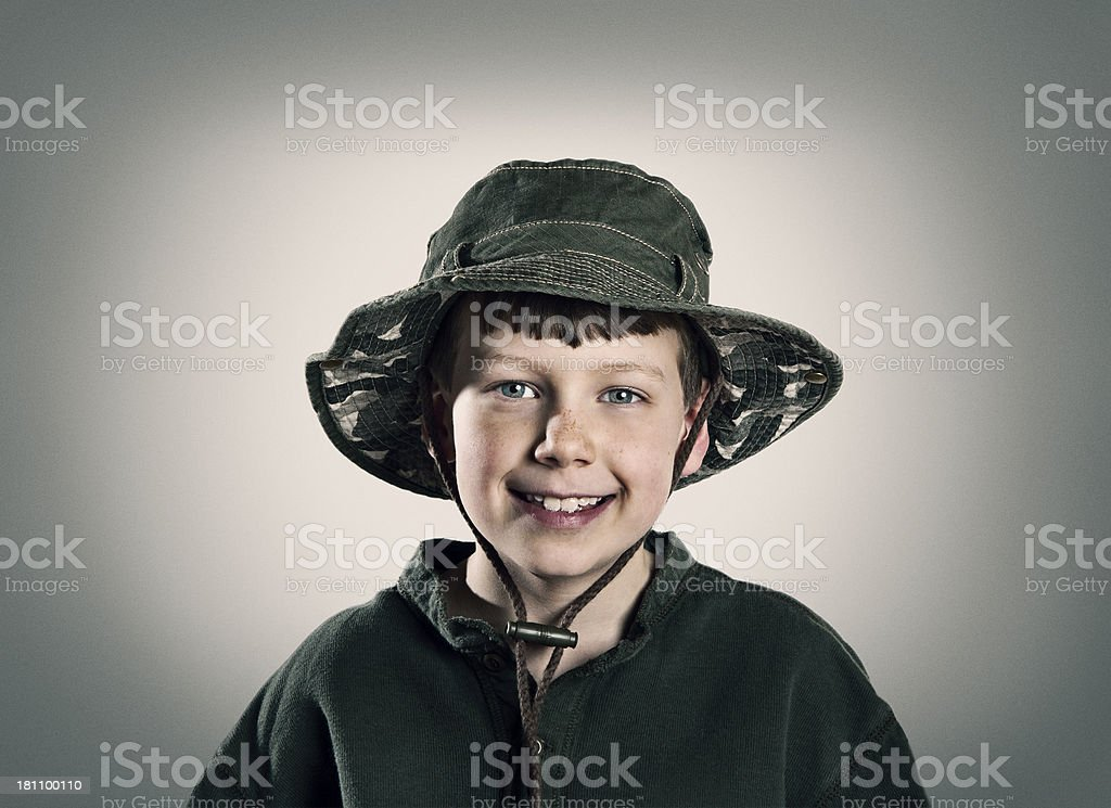 Happy Boy Portrait stock photo