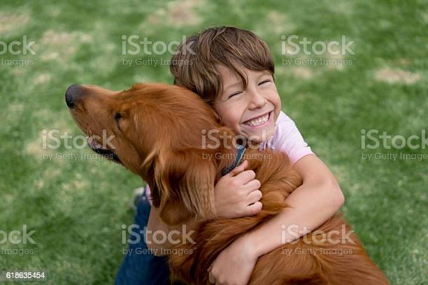 Happy boy with a beautiful dog picture id618635454?b=1&k=6&m=618635454&s=612x612&h=4mtpnzcpuqfrs0gdukx10vpggjlscxpluxqkhgv xjg=