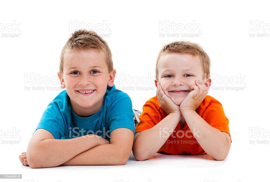Happy Boys royalty-free stock photo