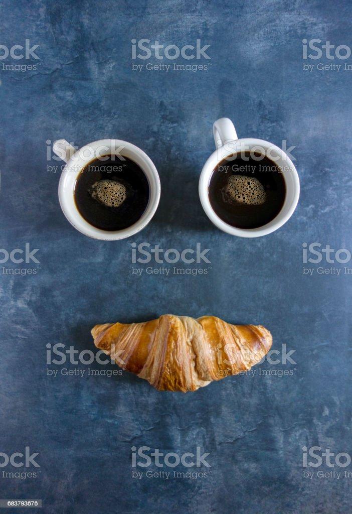 happy breakfast - foto stock