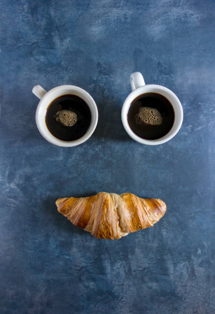 happy breakfast - foto stock