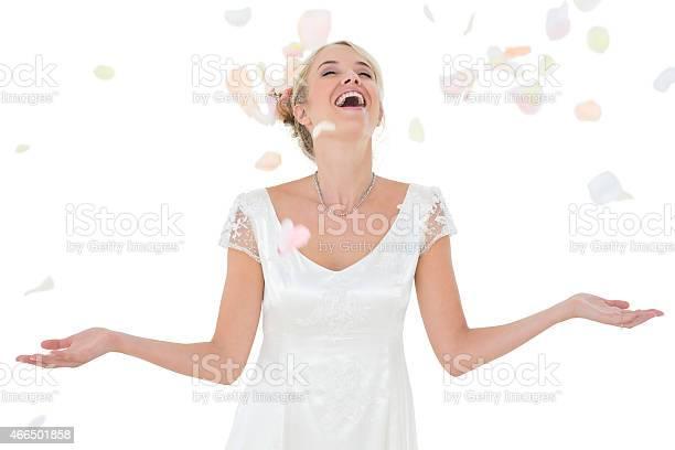Happy bride being showered with petals picture id466501858?b=1&k=6&m=466501858&s=612x612&h=rlgfqansxzviwctkfs0vkuxgfjr95gfhktawp6lq0vq=