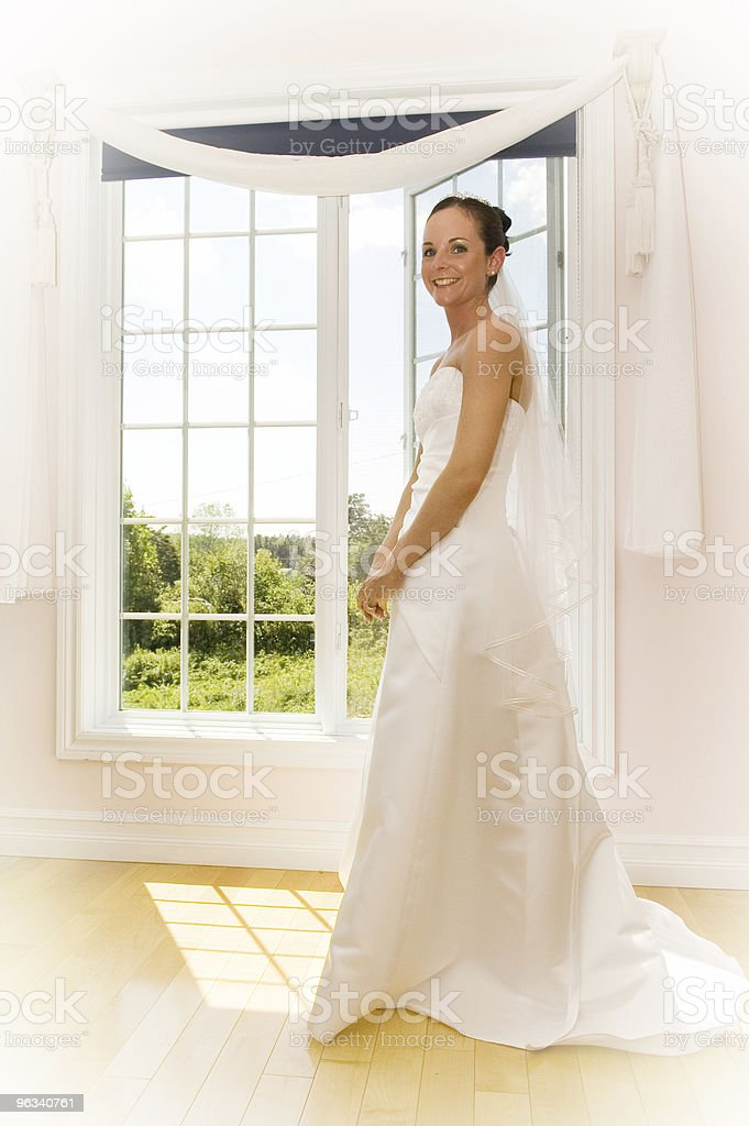 Happy Bride royalty-free stock photo