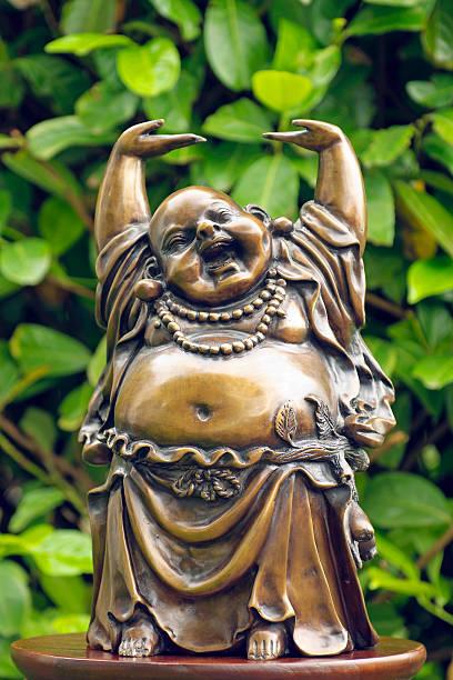 Felice buddha - foto stock