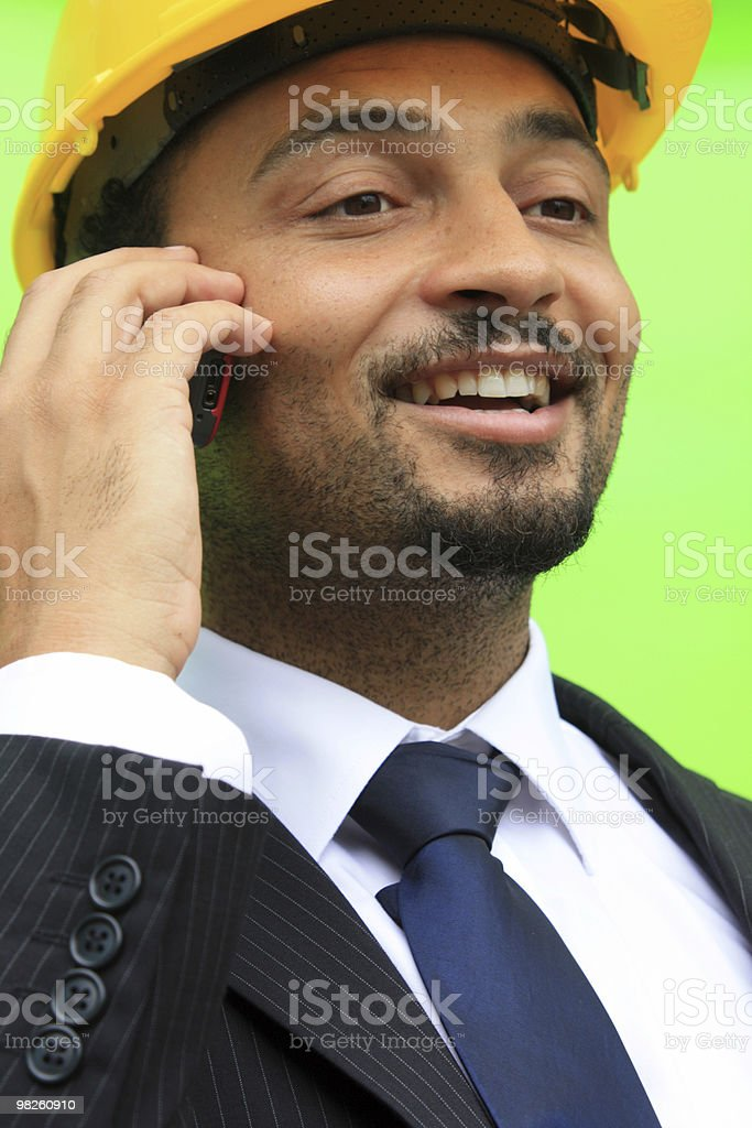 Happy Builder royalty-free stock photo