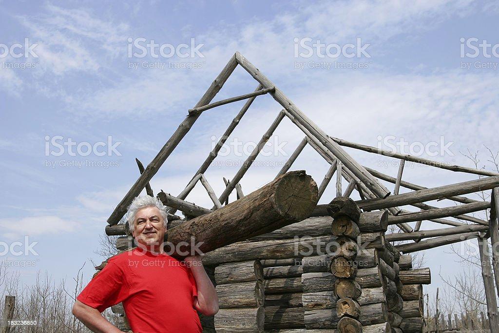 Happy Building royalty-free stock photo