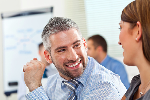 Happy Business People Stock Photo - Download Image Now