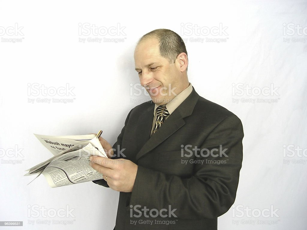 Happy Businessman - Royalty-free Accessibility Stock Photo