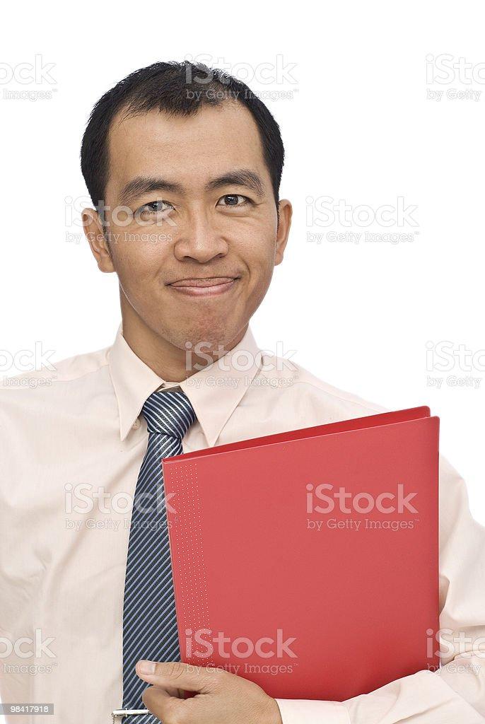 Happy businessman royalty-free stock photo