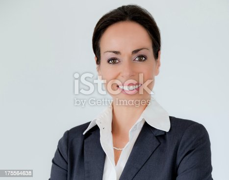 1126471588 istock photo Happy businesswoman 175564638