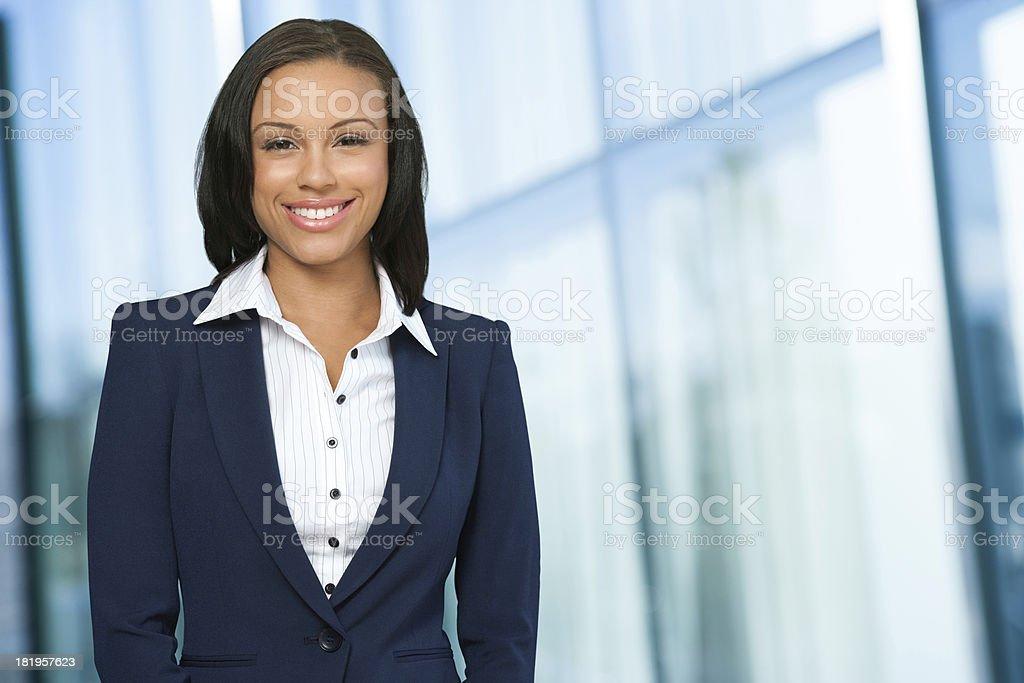 Zufrieden Geschäftsfrau – Foto