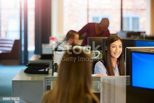 istock happy call centre 599976870