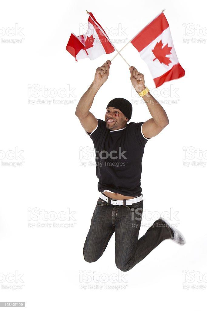 Happy Canada Day royalty-free stock photo