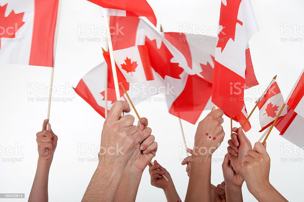 Happy Canada Day! stock photo