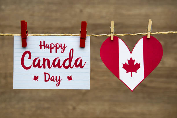 happy canada day - canada day stock pictures, royalty-free photos & images