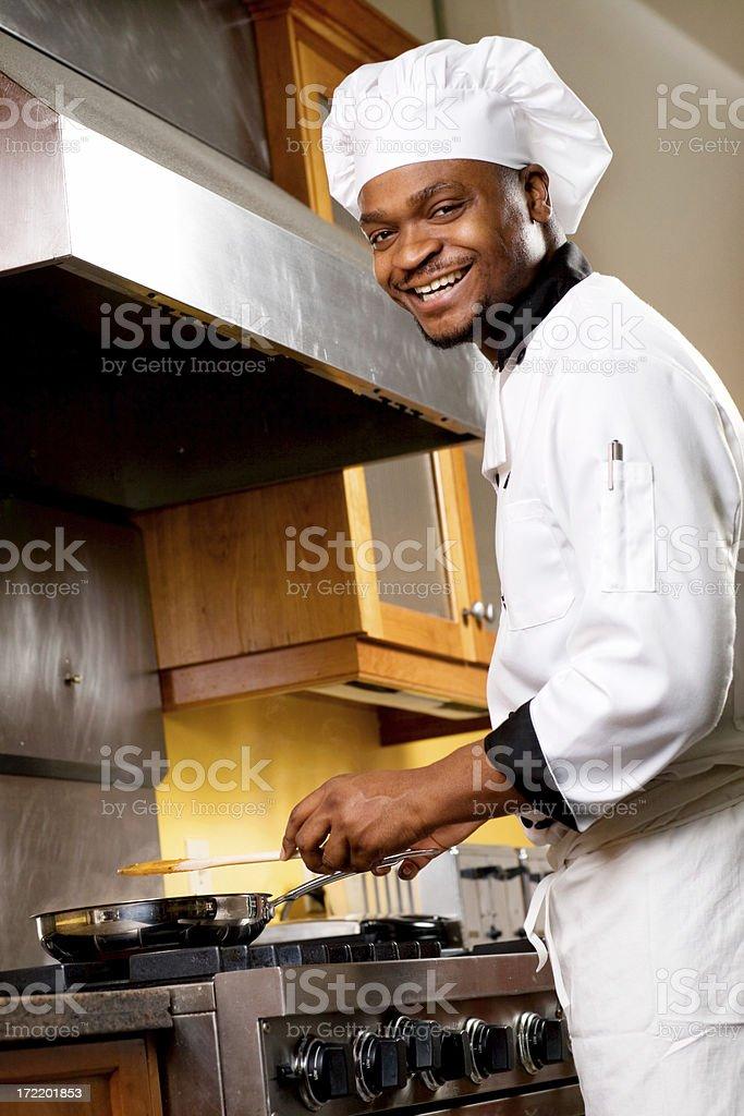 Happy Chef royalty-free stock photo