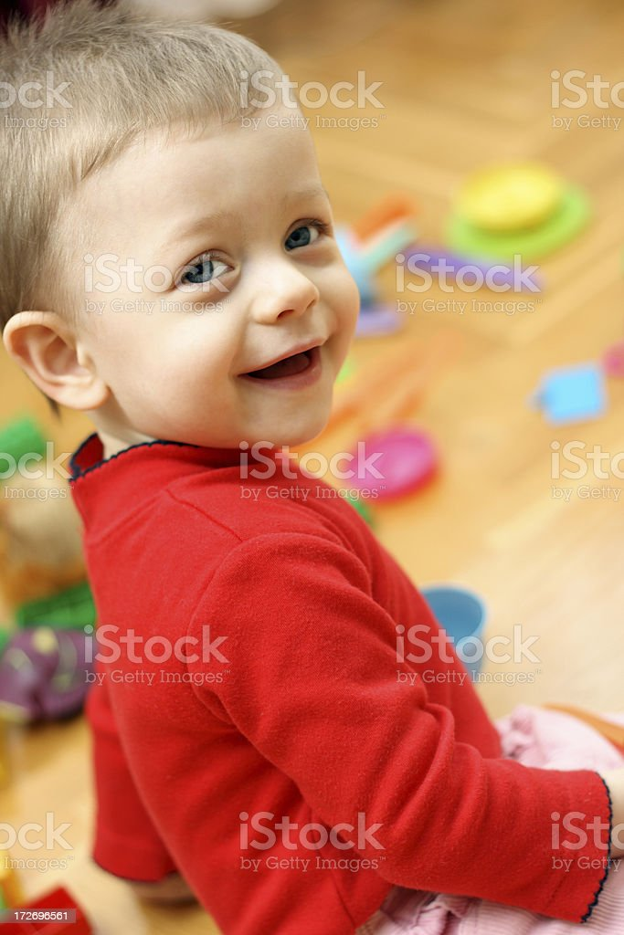 Happy child royalty-free stock photo