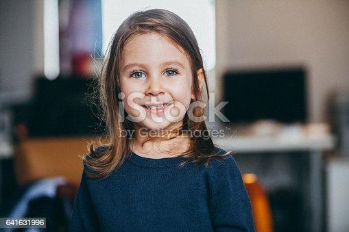 istock Happy Child Portrait 641631996