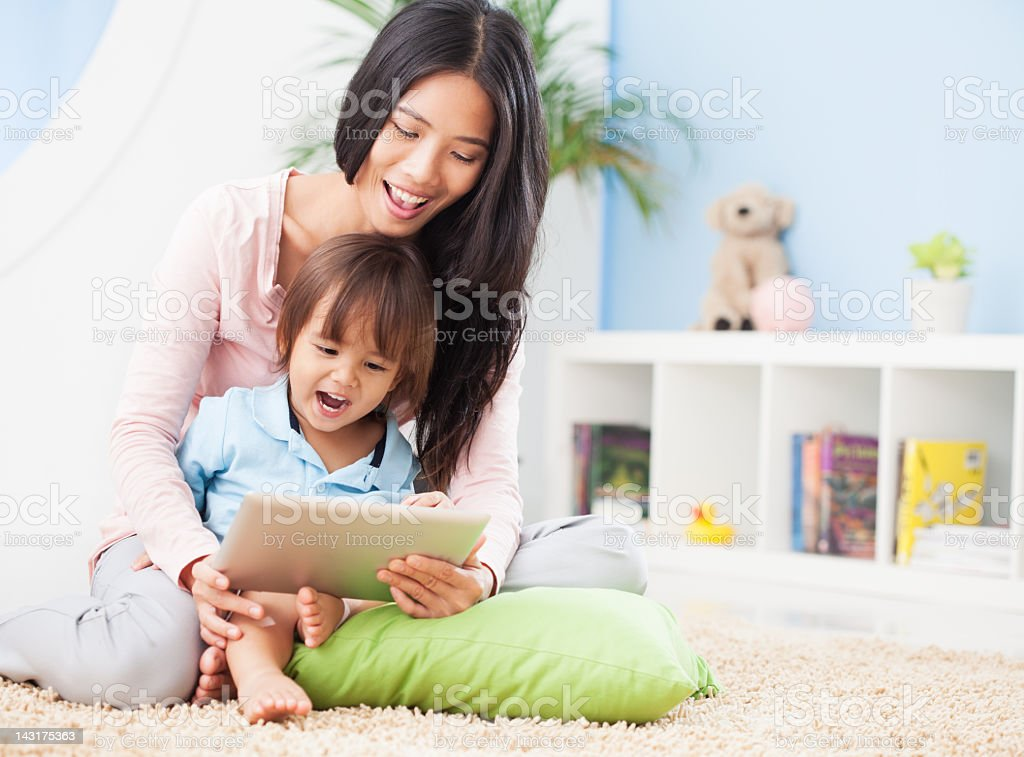 Happy Childhood Moments royalty-free stock photo