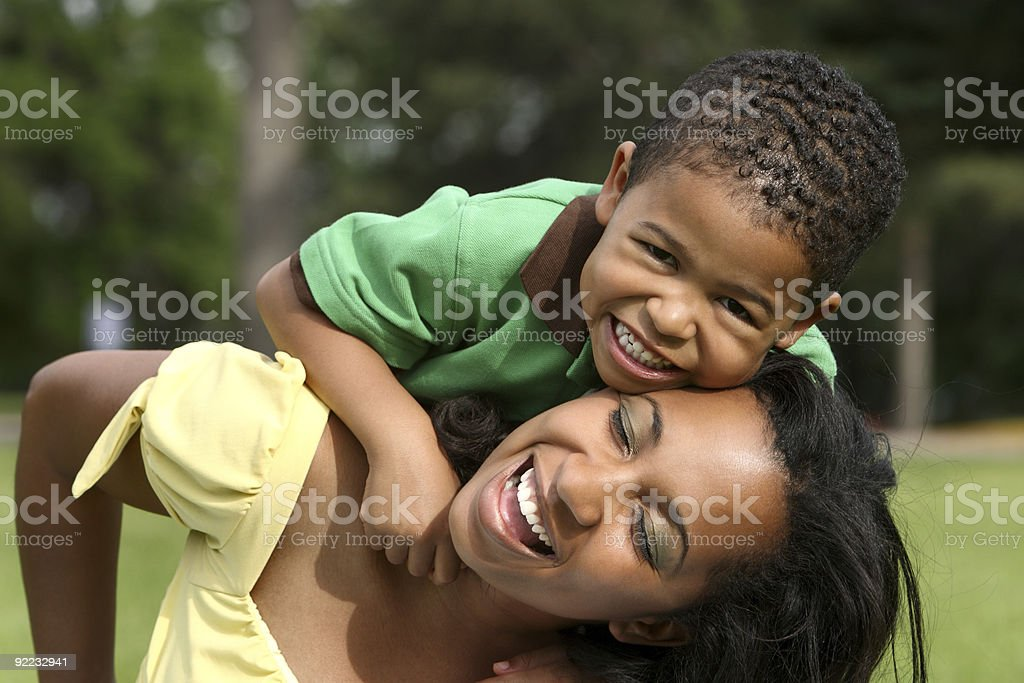 Happy Childhood royalty-free stock photo