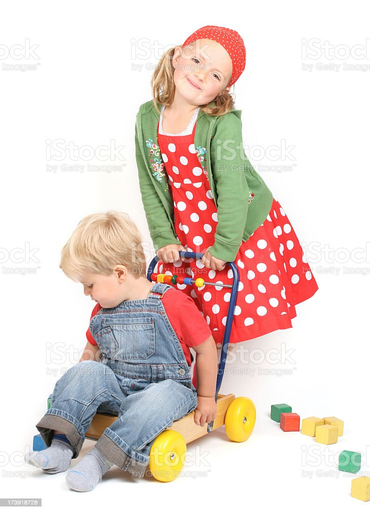 Happy Children royalty-free stock photo