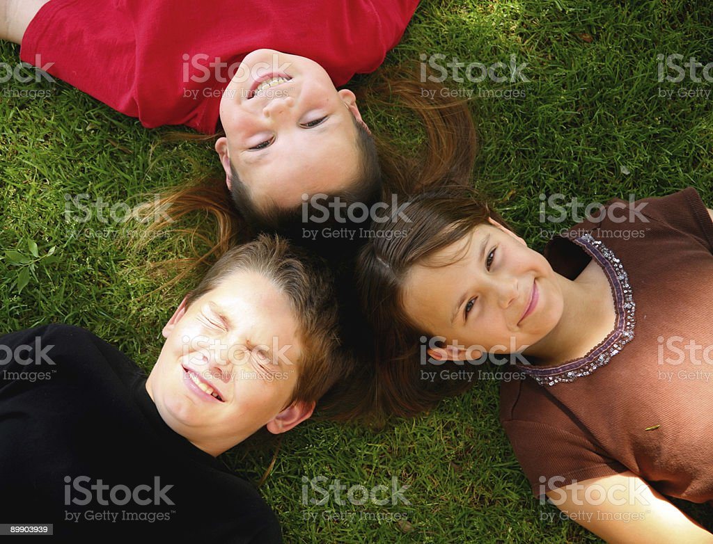 Happy Children royalty-free stock photo