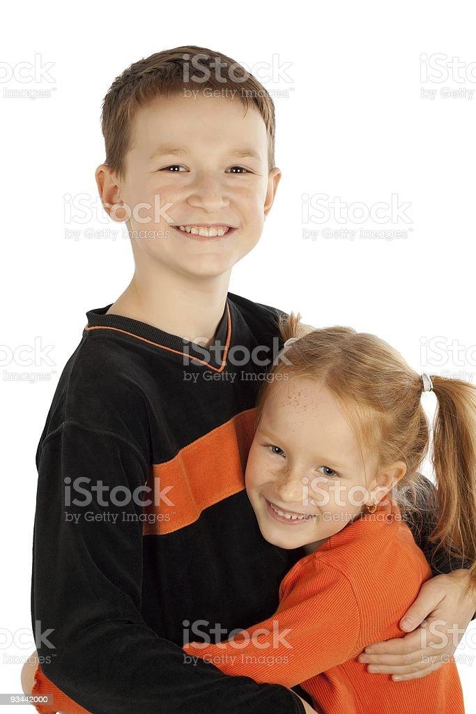 Glückliche Kinder Lizenzfreies stock-foto