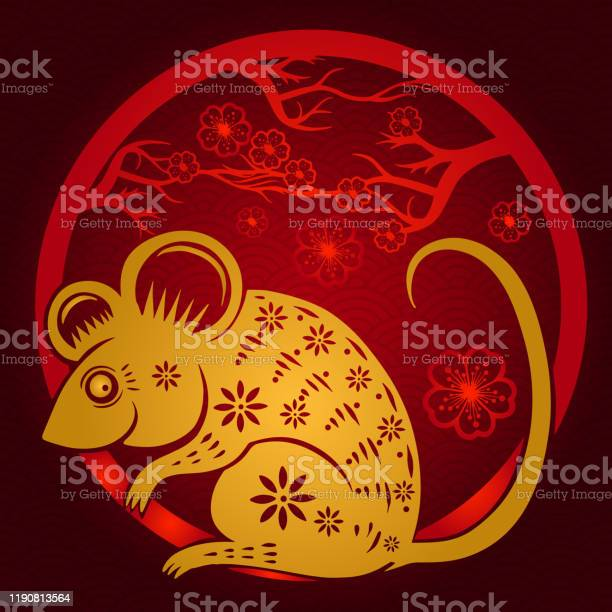 Happy chinese new year 2020 year of the rat zodiac sign for greetings picture id1190813564?b=1&k=6&m=1190813564&s=612x612&h=2zpmehkb6veoeojjt 01xn7mw0gel 9oevji5lzgbcq=
