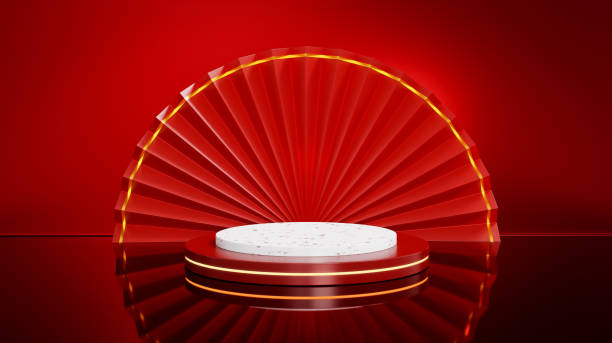 Happy Chinese New Year festival background stock photo