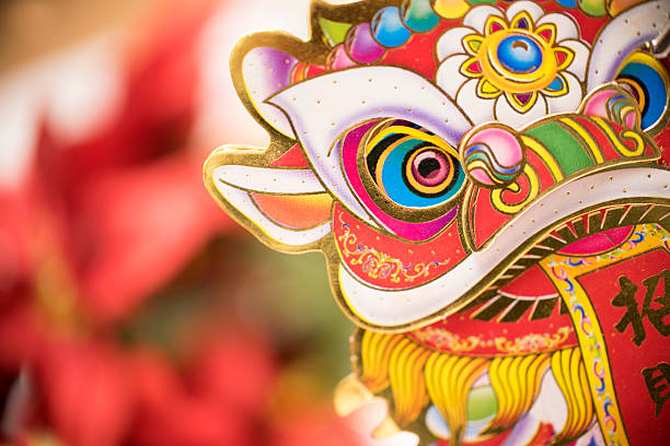 happy chinese new year - chinese new year stock pictures, royalty-free photos & images