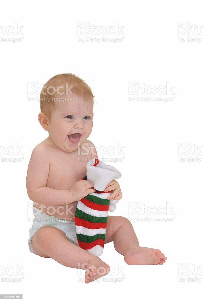 Happy Christmas-englische Redewendung Lizenzfreies stock-foto