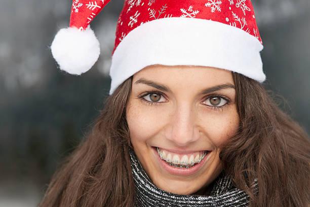 Retrato de feliz Navidad (XXXL - foto de stock