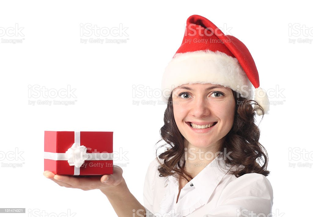 Happy Christmas time stock photo