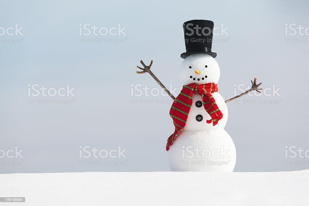 Foto Di Natale Neve Inverno 94.Buon Natale Pupazzo Di Neve Di Inverno Orizzontale Fotografie