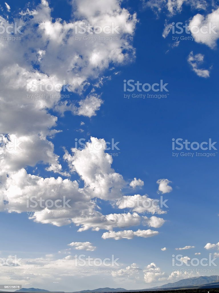 happy clouds royalty-free stock photo