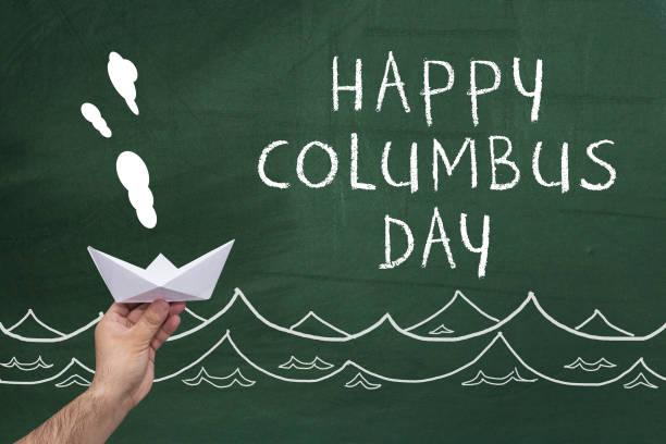 행복함 콜럼버스 일 - columbus day 뉴스 사진 이미지