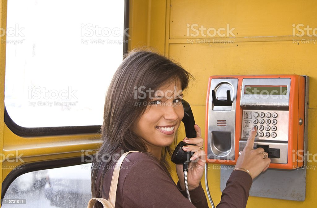 Happy communication royalty-free stock photo