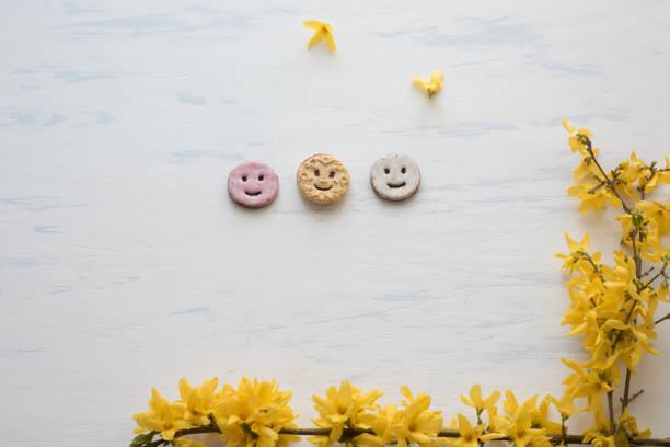 Glückliche Cookies – Foto