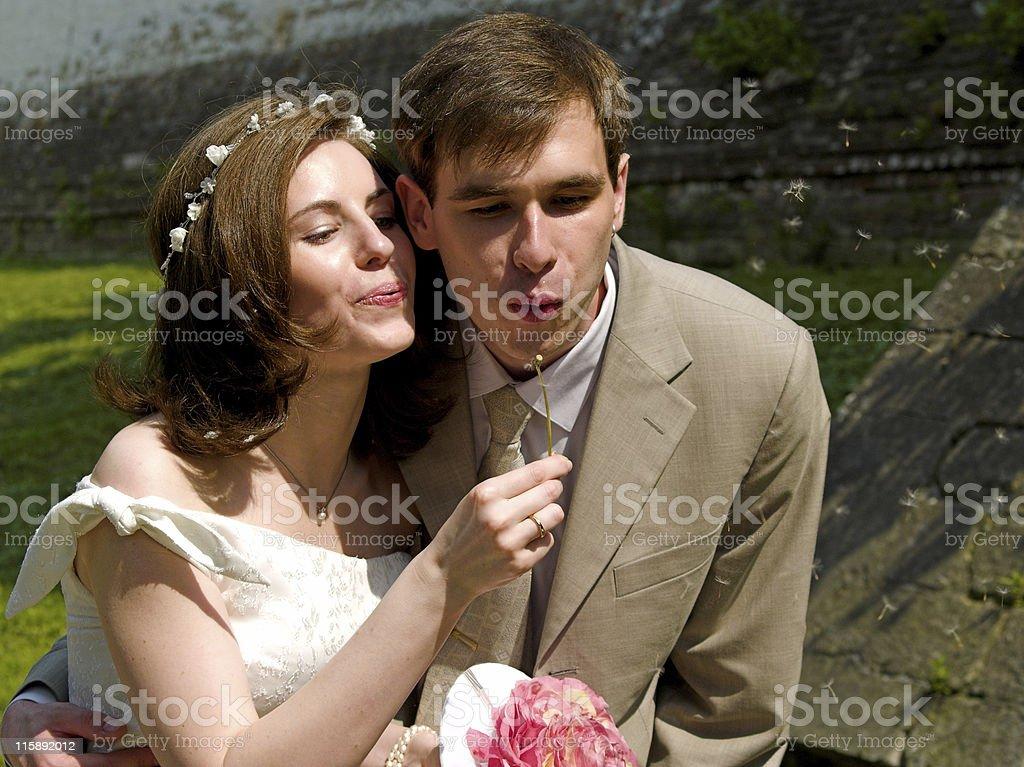 Happy couple 3 stock photo