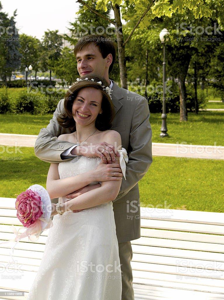 Happy couple 4 stock photo