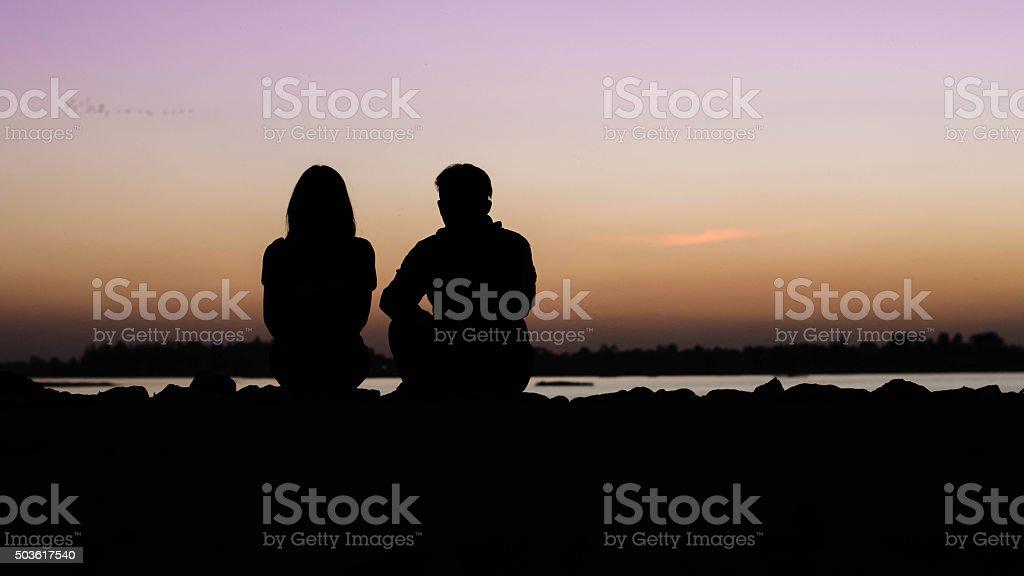 couple heureux en amour - Photo