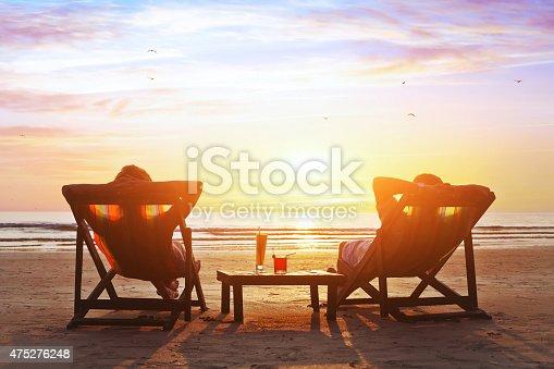 istock happy couple on the beach 475276248