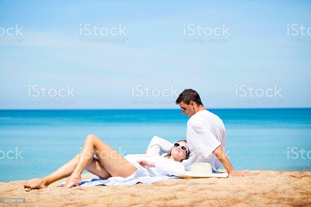 Honeymoon sex on the beach pics