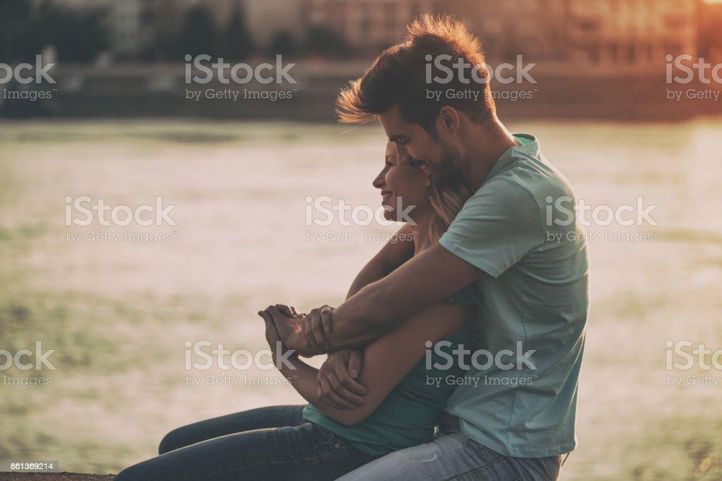 Glückliche Paar – Foto