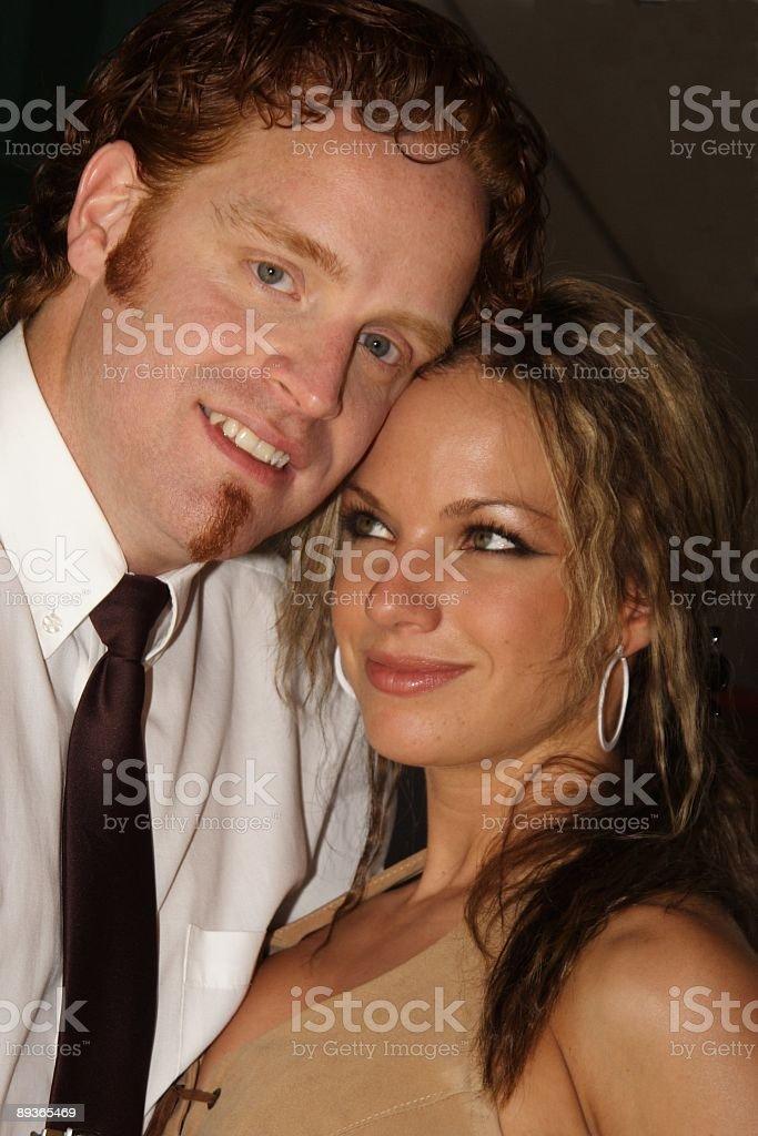 Feliz pareja foto de stock libre de derechos