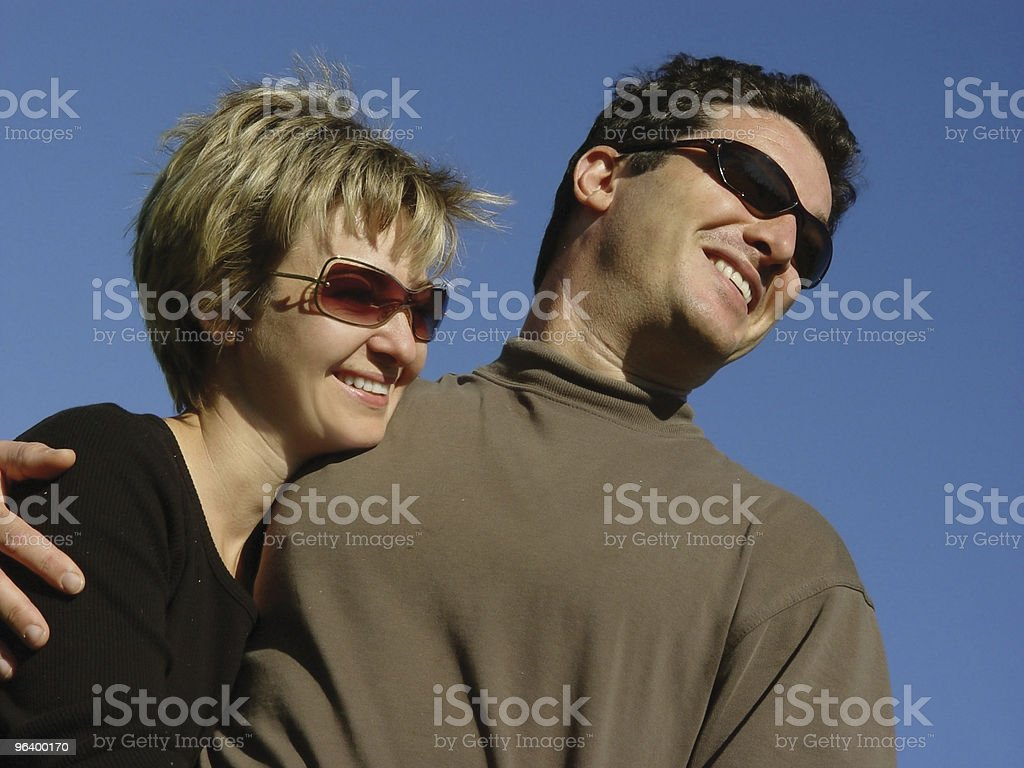 Happy couple - Royalty-free Adult Stock Photo
