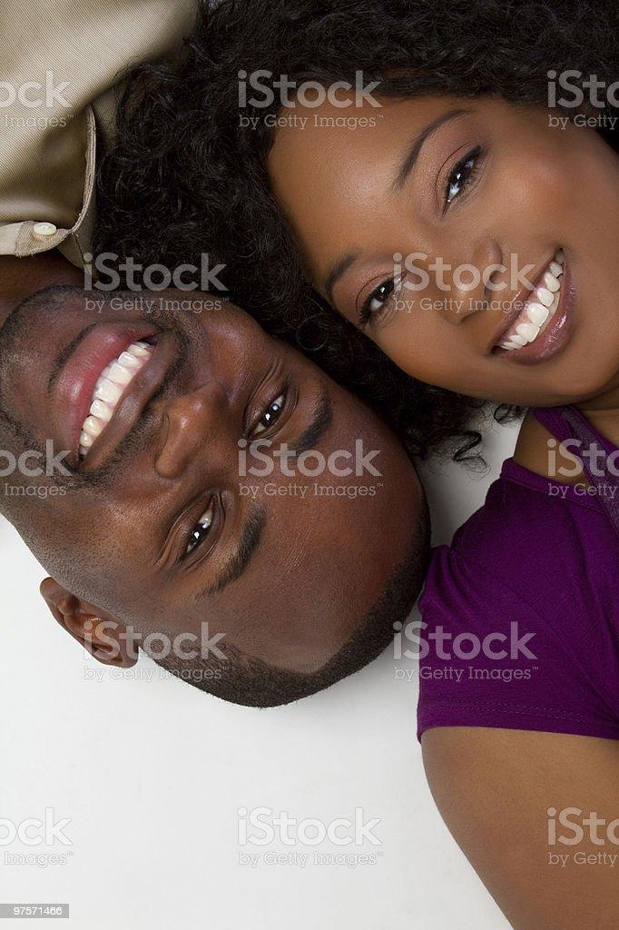 Heureux Couple photo libre de droits